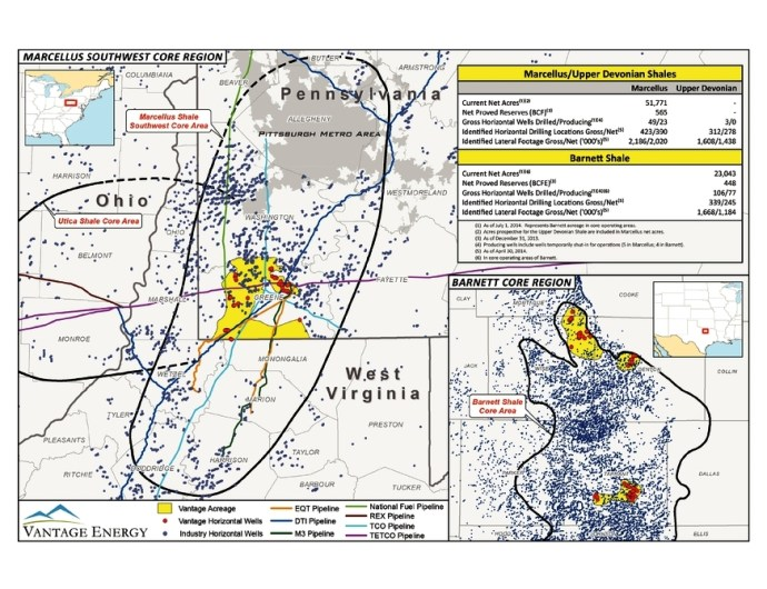 Vantage Energy wins Alpha NatGas Assets for $339.5 Million - Oil & Gas 360