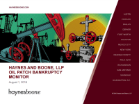 Haynes and Boone Releases Latest Edition of Bankruptcy Monitor