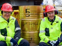 Statoil Celebrates 5 Billion Barrels from Statfjord