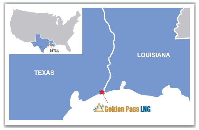 Gulf Coast LNG Importer Golden Pass Cleared to Export from Proposed $10 Billion Plant