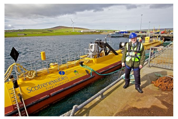 Electricity from the Sea is Real: the World's Most Powerful Tidal Turbine Achieves 2 MW Peak Power