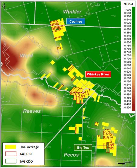 Jagged Peak Energy: Looking East in the Delaware