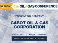 EnerCom's Conference Day One Breakout Notes: Cabot Oil & Gas Corporation
