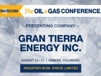 EnerCom's 2017 Conference Day Three Breakout Notes: Gran Tierra Energy