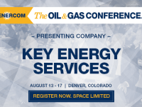 EnerCom's 2017 Conference Day Three Breakout Notes: Key Energy Services