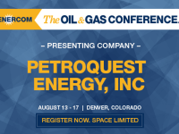 EnerCom's 2017 Conference Day Two Breakout Notes: PetroQuest Energy