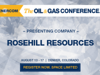 EnerCom's 2017 Conference Day One Breakout Notes: Rosehill Resources