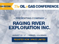 EnerCom's 2017 Conference Day One Breakout Notes: Raging River Exploration