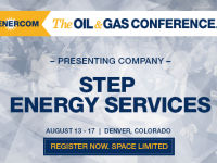 EnerCom's 2017 Conference Day Two Breakout Notes: STEP Energy Services