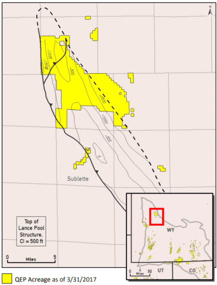 QEP Sells Pinedale Assets for $777.5 Million