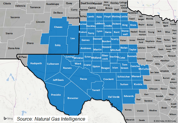 Current Natural Gas Prices In Texas