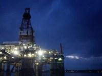 Diamond Offshore's Ocean Endeavor