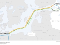 Nord Stream and Nord Stream 2 Pipelines