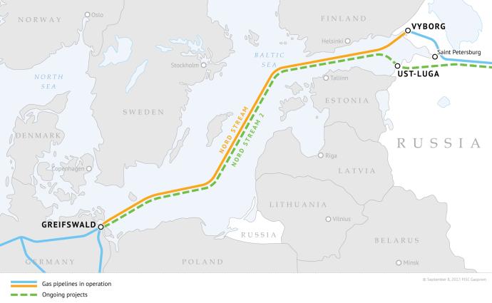 Nord Stream Gas Pipeline Sends 51 Bcm to EU