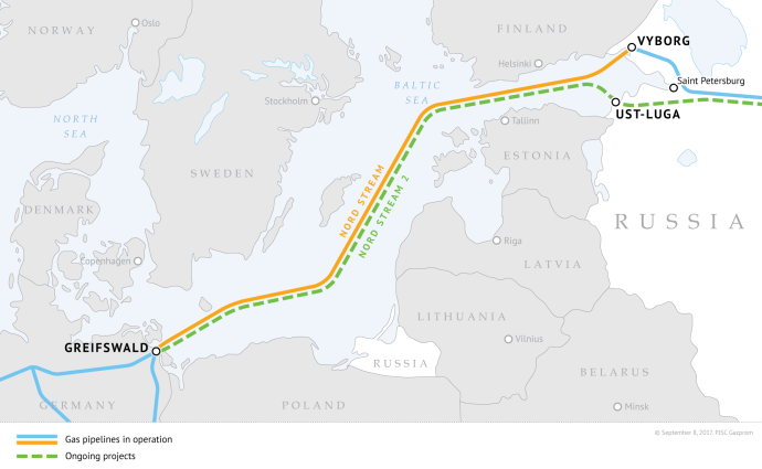 Nord Stream 2 Getting Closer Faster
