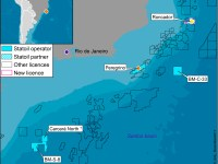 Statoil Map of Brazil Operations