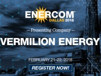 Vermilion Energy Inc. Presenting at EnerCom Dallas Feb. 21-22, 2018