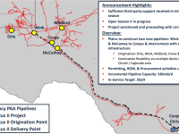Cactus II Pipeline Primed with Contracts