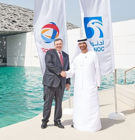 Abu Dhabi National Oil Company (ADNOC) and Total Get