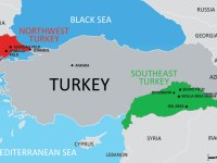 Illustrative Map of Turkey