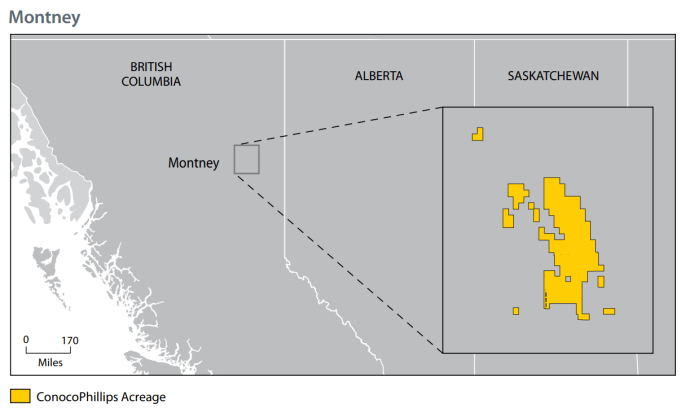 ConocoPhillips Doubles Down in British Columbia's Montney with 35,000-Acre Acquisition