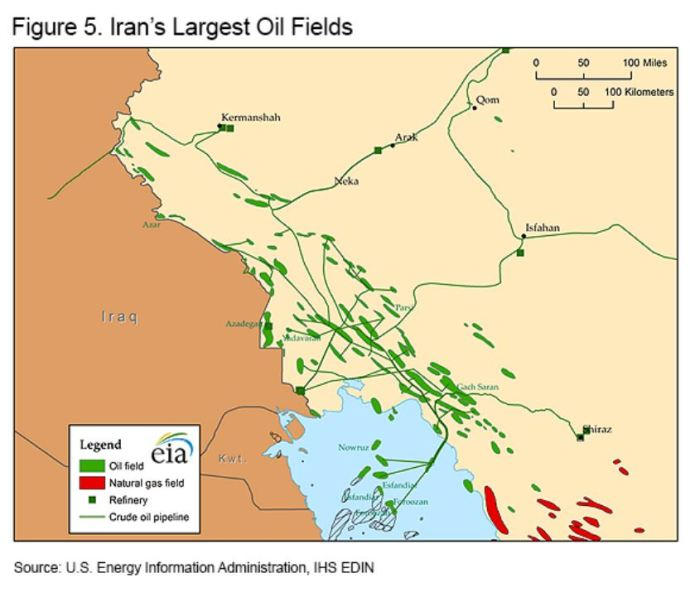 Iran's Short-Lived Oil and Gas Boom
