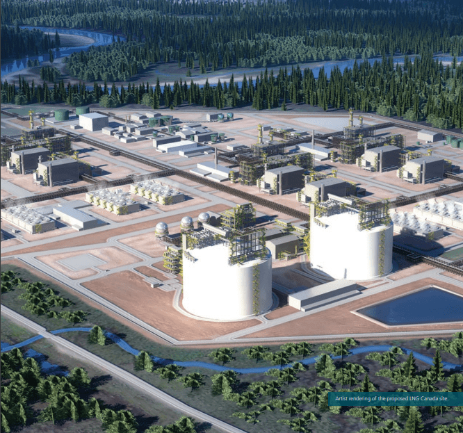 PETRONAS Back In: Takes 25% of LNG Canada