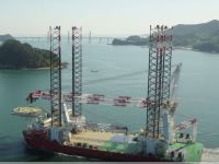 Giant Jack-Up Rig Sets a Wind Farm Milestone Offshore Ireland