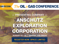 Anschutz Exploration to Present at The Oil and Gas Conference