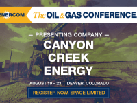 Presenting Companies at The Oil and Gas Conference: Canyon Creek Energy