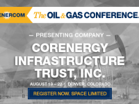 CorEnergy Infrastructure Trust to Present at The Oil and Gas Conference
