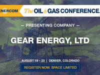 Presenting Companies at The Oil and Gas Conference: Gear Energy