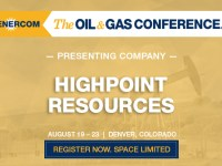 The Oil and Gas Conference Presenting Companies: HighPoint Resources Corporation