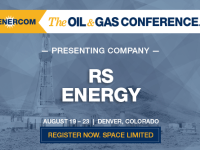 Presenting Companies at The Oil and Gas Conference: RS Energy group