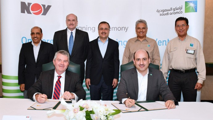 Saudi Aramco Signs JV with NOV Pushing Creation of Energy Services Sector