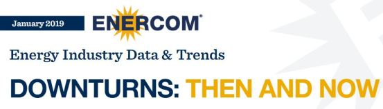 the EnerCom Report Downturns: Then and Now - Oil & Gas Funding is Evolving - Oil & Gas 360