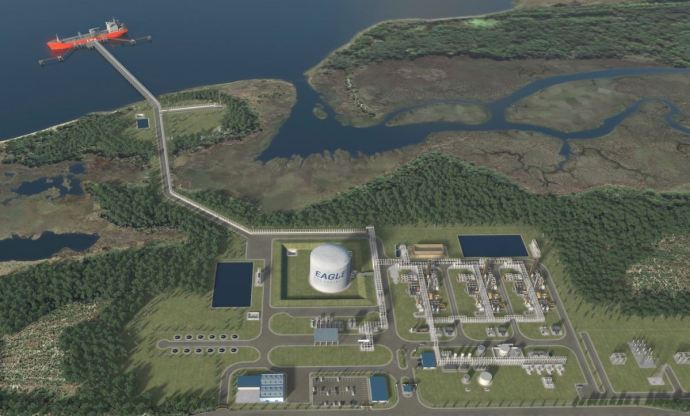 Eagle LNG Jacksonville Florida - LNG Exports from Florida's East Coast gets FEIS - Oil & Gas 360