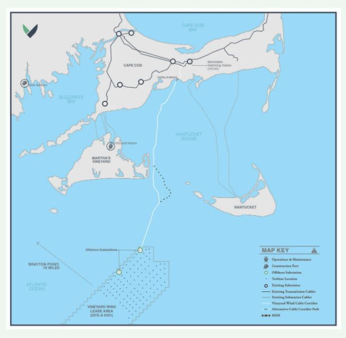 U.S. Offshore Wind Project Dealt Two Blows: Edgartown Commission Rejects Cables, Feds Delay EIS
