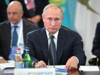 Source: Reuters FILE PHOTO: Russian President Vladimir Putin attends a meeting of the Supreme Eurasian Economic Council in Yerevan, Armenia October 1, 2019. Sputnik/Alexei Druzhinin/Kremlin via REUTERS