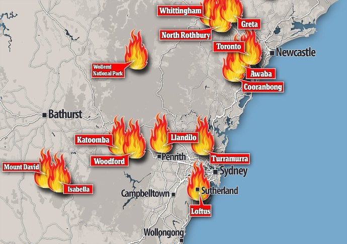 Deadly Australia bushfires sweeping country reaches national disaster -3 -oilandgas360
