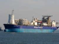 The EnQuest Producer is due to be taken to shore and recycled, despite hopes it would be in operation for up to 15 years after Alma-Galia first oil. Pic: Port of Hamburg