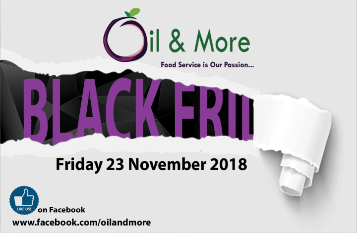 Like our Facebook page for more details on our Black Friday Promotion, Friday 23 November 2018