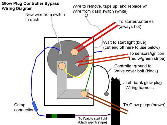 image012 89 ford 7 3 idi wiring diagram ford wiring diagram gallery 7.3L Glow Plug Wiring Diagram at soozxer.org
