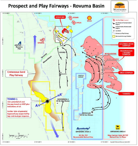Tembo 2 Appraisal Well Drilling Location Identified, front end work underway