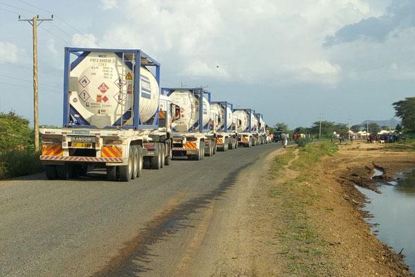 EOPS: 30,000 Barrels of Crude Oil Stored in Mombasa