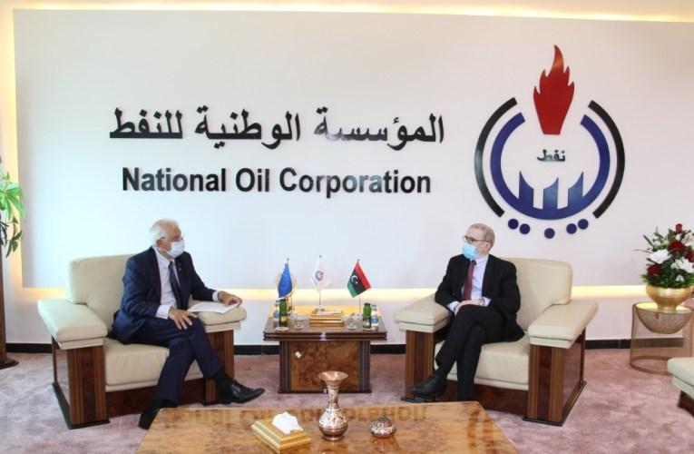 LIBYA: NOC, EU High Representatives Discuss Effects of Oil Blockades