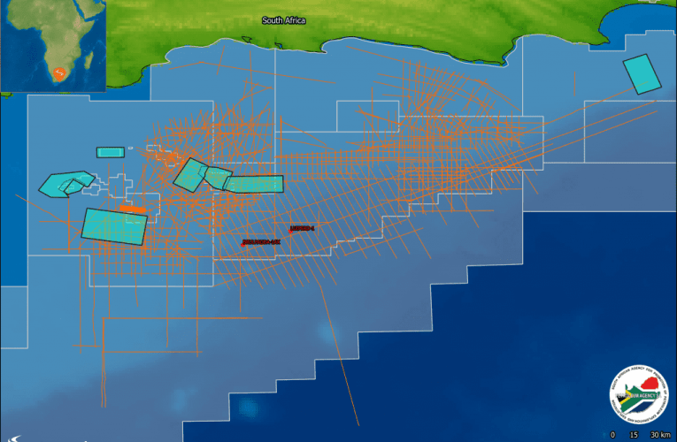 Searcher announces 2D and 3D seismic project Offshore South Africa