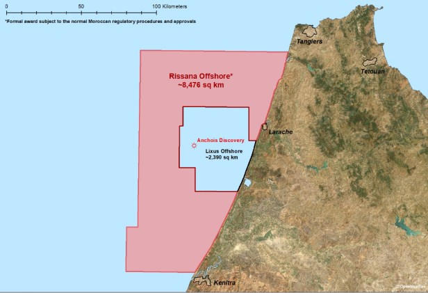Chariot Oil & Gas Negotiates the key terms of a new licence, Rissana Offshore