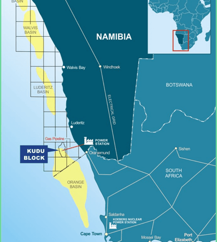 NAMIBIA: BW Energy Limited, NAMCOR Sign a Farm-In for Kudu license