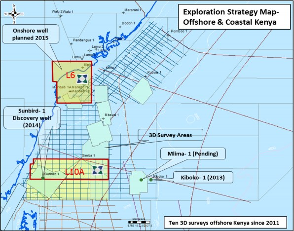 KENYA: Mlima Offshore Well Drilling Set for Late Q4, Early 2022